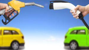 Vehículos eléctricos versus vehículos fósiles